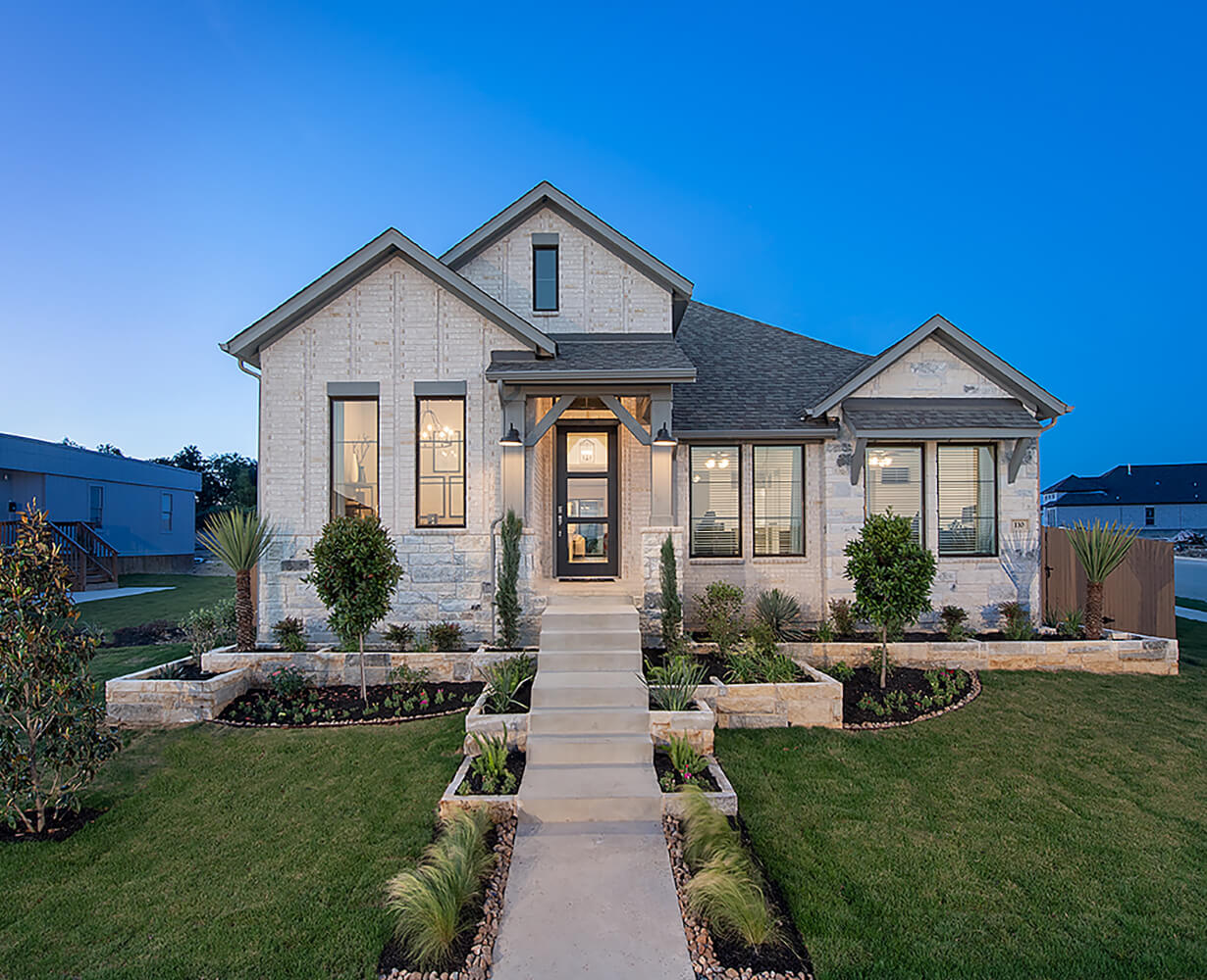 Perry Homes Exterior Elevation Photo