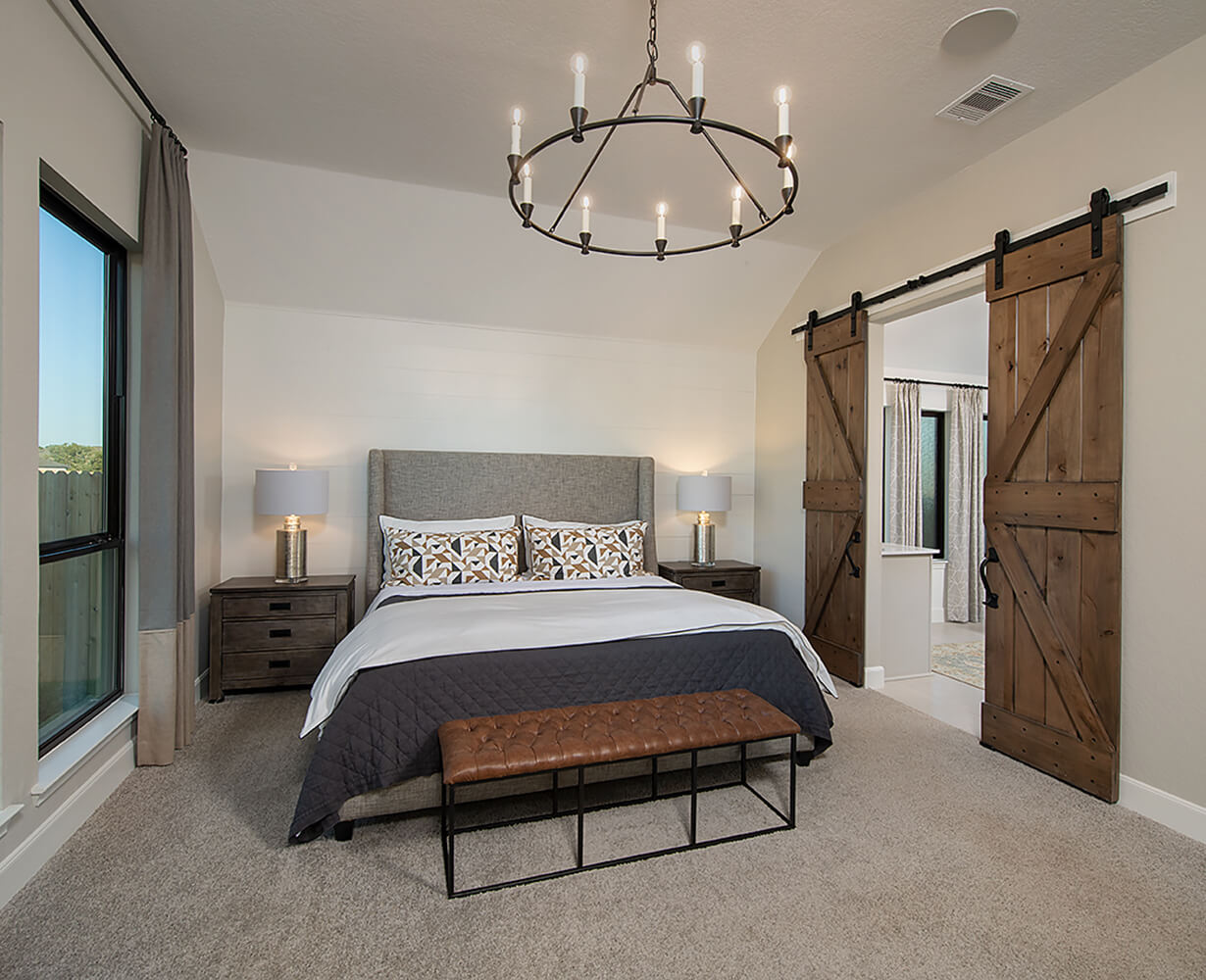 Perry Homes Master Bedroom Photo