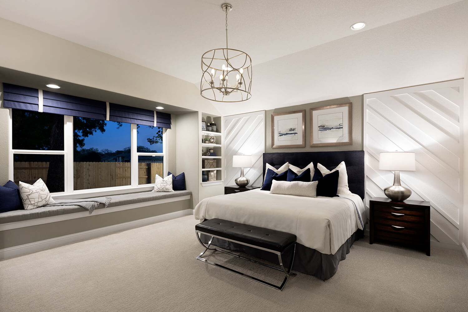 Scott Felder Homes Cameron Master Bedroom Photo
