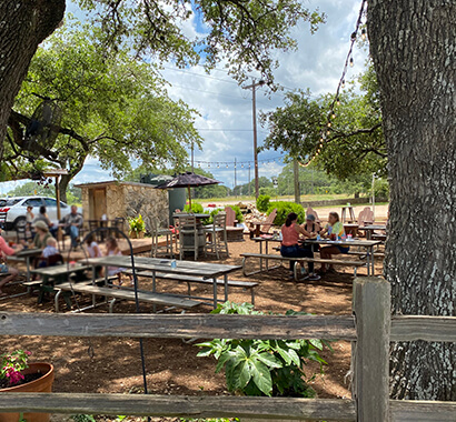 Hays City Store and Ice House Photo of Patio Dining