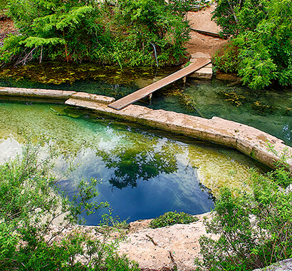 Jacob's Well Natural Area Photo
