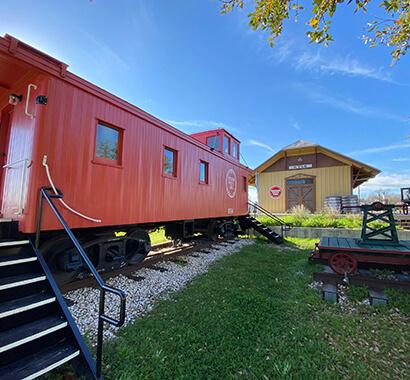 Kyle Historic Railroad and Depot Photo