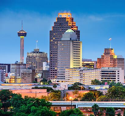 San Antonio Texas Skyline Photo