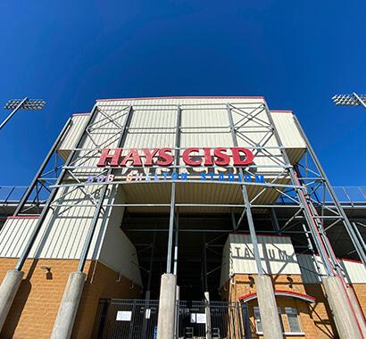Hays High School Football Stadium Photo